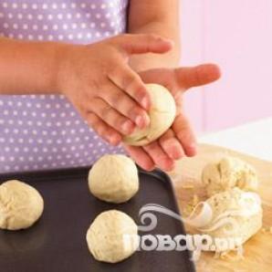 Веселые булочки - фото шаг 8
