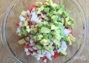 Овощной салат с киноа - фото шаг 5