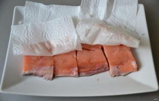 Филе лосося в бальзамической глазури - фото шаг 3