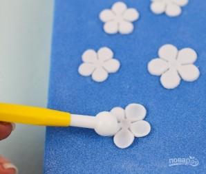 Сахарные цветы - фото шаг 3