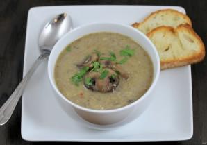 Диетический грибной крем-суп - фото шаг 4