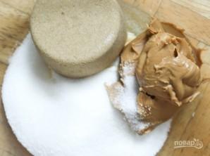 Овсяное печенье с разноцветными драже - фото шаг 1