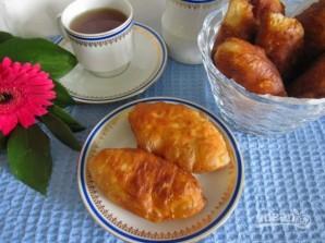 Жареные пирожки с вареньем - фото шаг 9