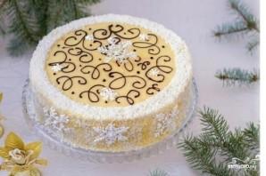 Слоеный торт с заварным кремом - фото шаг 11