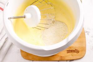 Бисквит из трех яиц - фото шаг 3