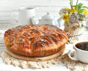 Праздничные булочки с марципаном и цукатами - фото шаг 10