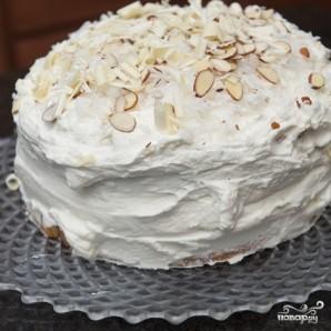 Кокосовый пирог с кремом - фото шаг 16