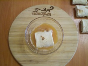 Жареный лаваш с начинкой - фото шаг 6