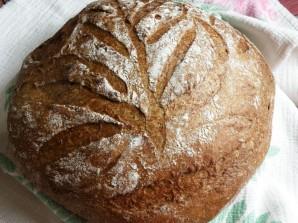 Хлеб ржаной на квасном сусле - фото шаг 7