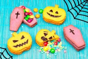 Печенье с сюрпризом на Хэллоуин - фото шаг 6