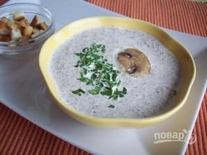 Суп-пюре с шампиньонами и сыром - фото шаг 6