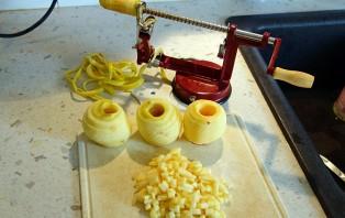 Яблочный кекс в хлебопечке - фото шаг 1