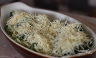 Брокколи под сырным соусом - фото шаг 5
