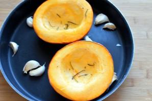 Тыквенный суп-пюре с манго - фото шаг 1