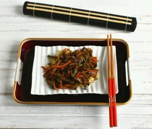 Маринованная говядина с овощами и зеленью - фото шаг 7