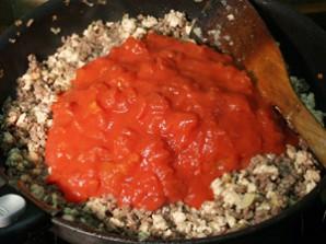 Лазанья с овощами и фаршем - фото шаг 2