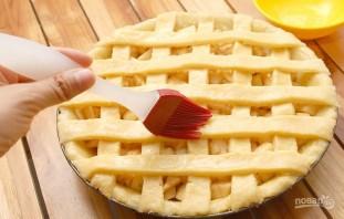 Пирог с яблоками (открытый) - фото шаг 7