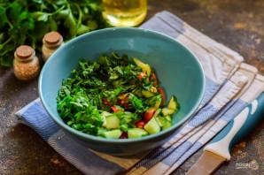 Салат с булгуром и тунцом - фото шаг 5