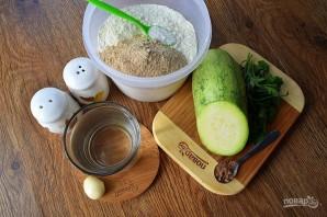 Вегетарианские пельмени с кабачками - фото шаг 1