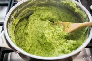 Картофельное пюре со шпинатом - фото шаг 4