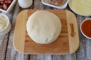 Бургеры в стиле пиццы - фото шаг 6