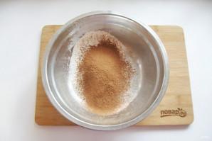 Классический шоколадный бисквит - фото шаг 6