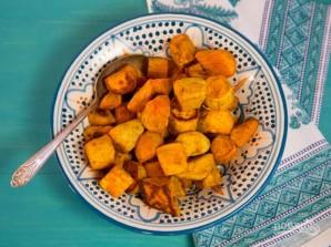 Запечённый сладкий картофель - фото шаг 3