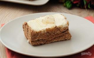 Бисквитное пирожное с белковым кремом - фото шаг 10