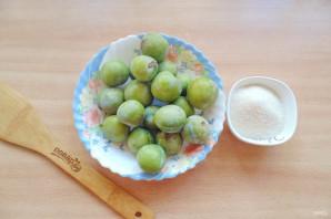 Варенье из зеленых слив на зиму - фото шаг 1