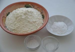 Пирог с грушами и сливами - фото шаг 4