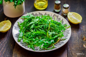 Салат с рукколой и брынзой - фото шаг 2