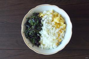Салат из морского окуня горячего копчения - фото шаг 3