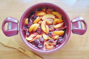 Варенье из персиков и слив - фото шаг 10