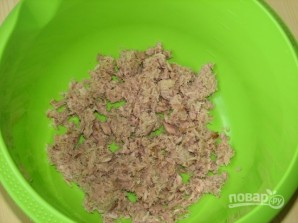 Салат из тунца с яйцом - фото шаг 1