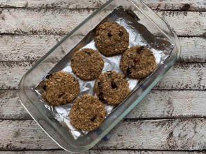 Овсяное печенье с финиками - фото шаг 7