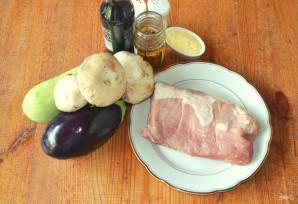 Мясо с овощами на гриле - фото шаг 1