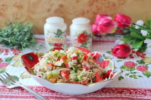 Крабовый салат без яиц - фото шаг 10