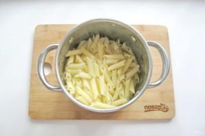 Паста со шпинатом в сливочном соусе - фото шаг 7
