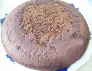 Шоколадный торт с кокосовой стружкой - фото шаг 2