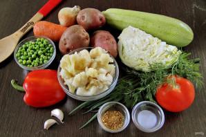Летний овощной суп - фото шаг 1