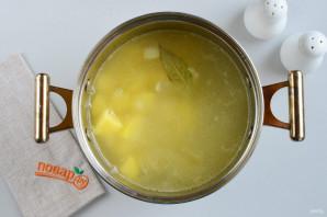 Сливочно-чесночный суп - фото шаг 7