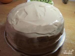 Бисквитный торт с бананом и киви - фото шаг 9