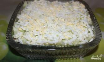 Салат с копченой грудкой - фото шаг 5