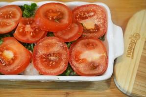 Рыба в духовке со шпинатом и помидорами - фото шаг 6