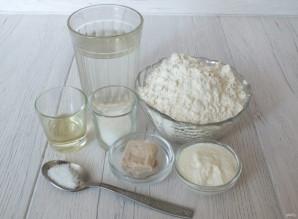 Хлеб на свежих дрожжах в хлебопечке - фото шаг 1
