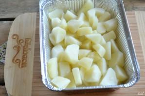 Картофель под белым соусом - фото шаг 4