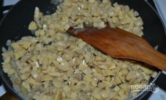 Салат с куриной грудкой и грибами - фото шаг 4