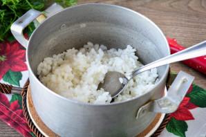 Котлеты из кабачков с рисом - фото шаг 3
