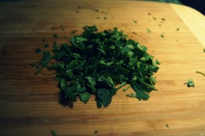 Салат с маринованным имбирем - фото шаг 2