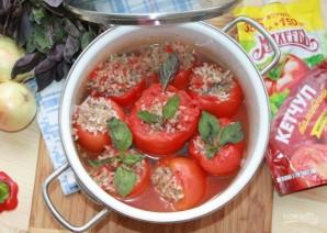 Лучший рецепт фаршированных перцев с кетчупом - фото шаг 7